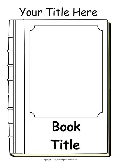 Editable Book Cover Templates  U2013 Black And White  Sb10422