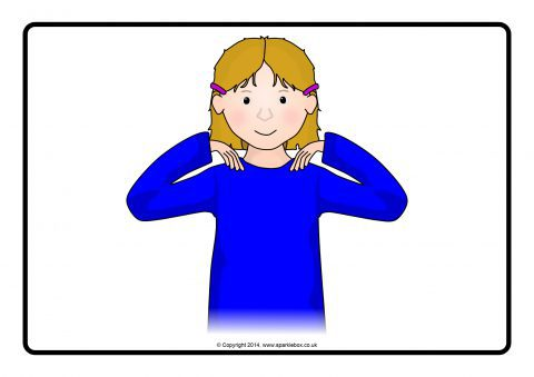 head shoulders knees toes picture posters
