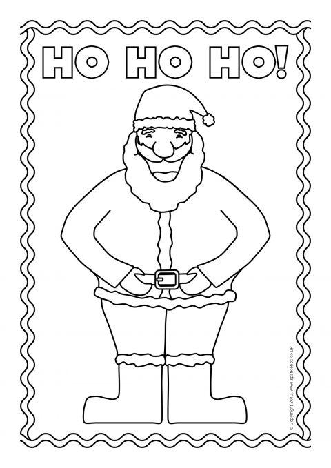 Christmas Colouring Sheets SB3519 SparkleBox