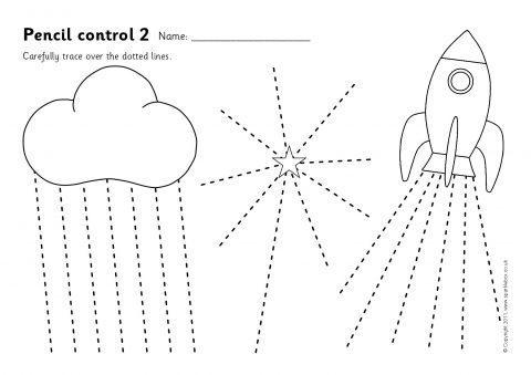 Pencil Control Worksheets 1