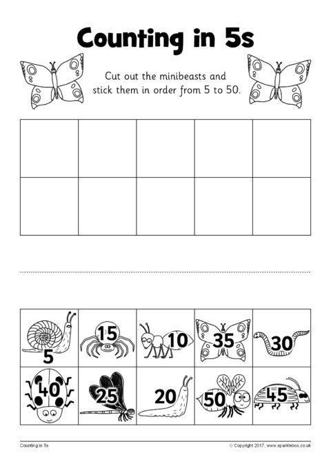 34 Counting In 5s Worksheet Free Worksheet Spreadsheet