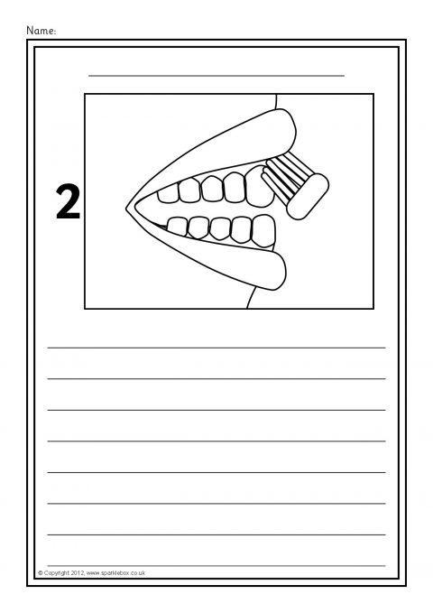 Algorithm brushing teeth, how to brush your teeth kindergarten registration