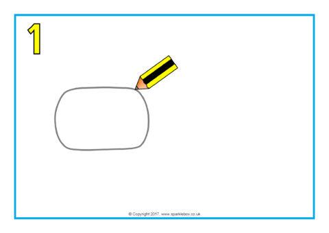 how to draw a hippopotamus step by step