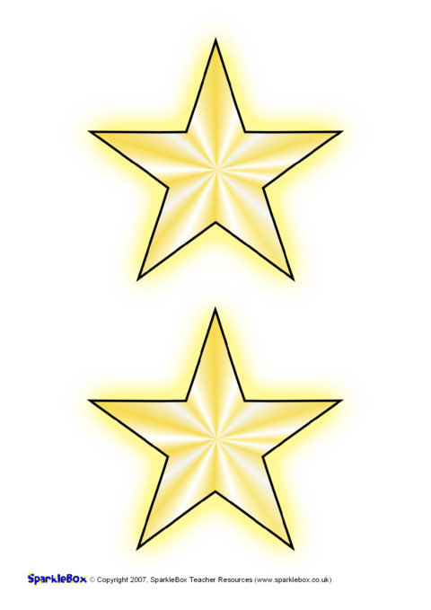 Star Name Labels (SB975) - SparkleBox