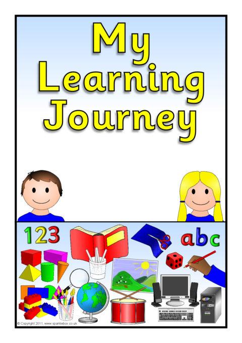 u2018learning journey u2019 pupil  class record book covers  sb5187