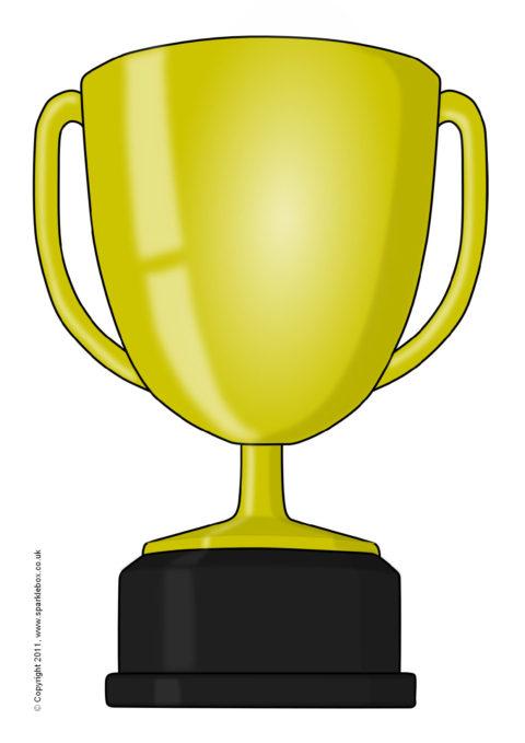 image relating to Printable Trophy titled Editable Trophy Templates (SB5420) - SparkleBox