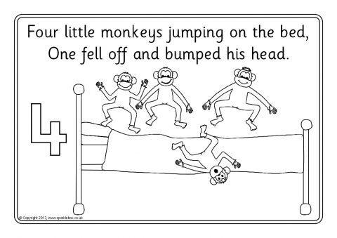 Five Little Monkeys Jumping on