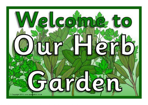 Garden Herb Signs Garden Ftempo