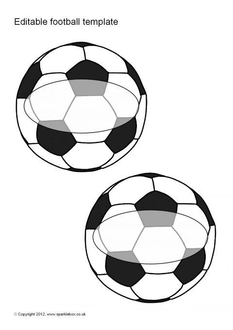 Editable Football Templates (SB8241) - SparkleBox