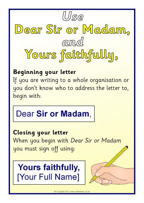 writing a formal letter visual aids  sb7947
