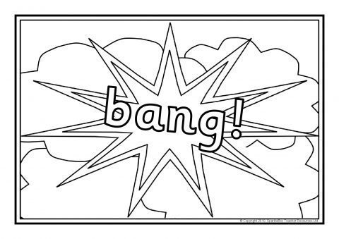 free bonfire night coloring pages | Bonfire Night Colouring Sheets (SB3262) - SparkleBox