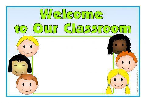Editable Classroom Welcome Signs 2 Sb4058 Sparklebox