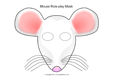 Mouse role play masks sb9951 sparklebox preview maxwellsz