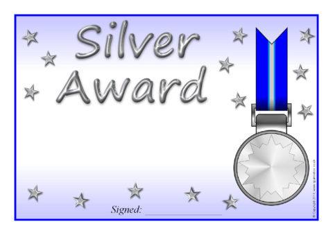 Award Certificate Template Teacher