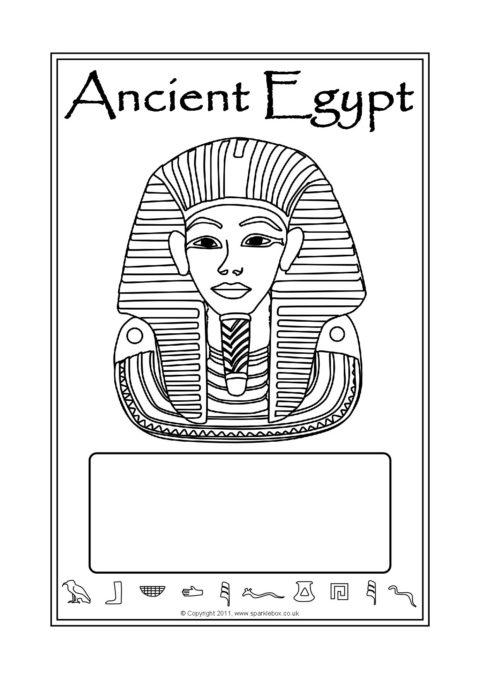 Egyptians A4 Page Borders Sb6878 Sparklebox