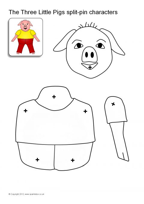 A Group Of Body Part Sets That Can Be Assembled Into Three