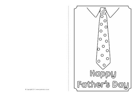 It's just a picture of Tactueux Fathers Day Card Template