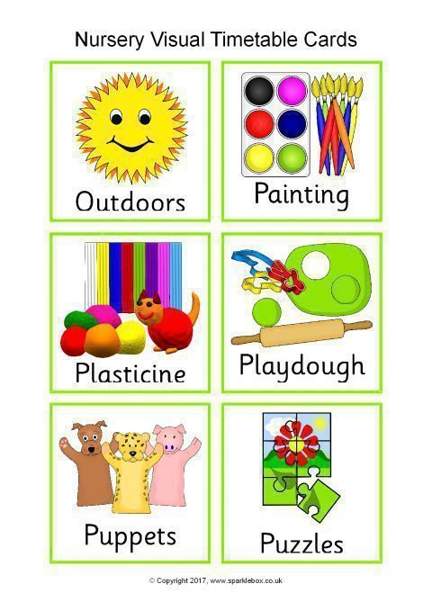 Terms Of Use >> Visual Timetable for Nurseries