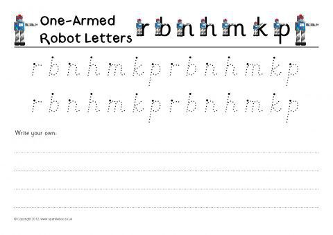 Letter Formation Practise Sheets Sb7838 Sparklebox