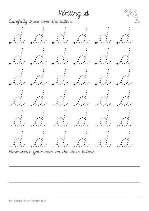 Writing Letters Formation Worksheets Cursive Sb7999 Sparklebox