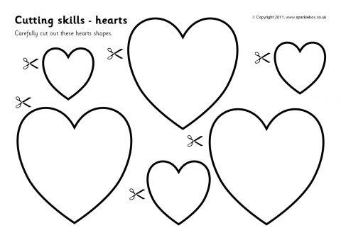 cutting skills worksheets more shapes sb4537 sparklebox. Black Bedroom Furniture Sets. Home Design Ideas