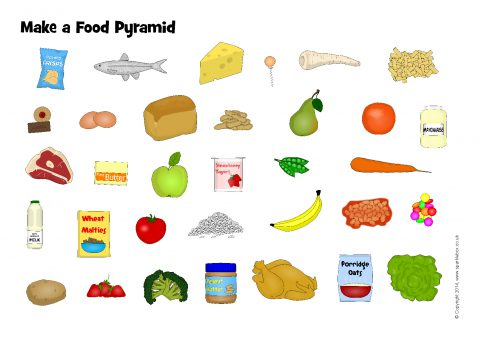 Make A Food Pyramid Worksheet