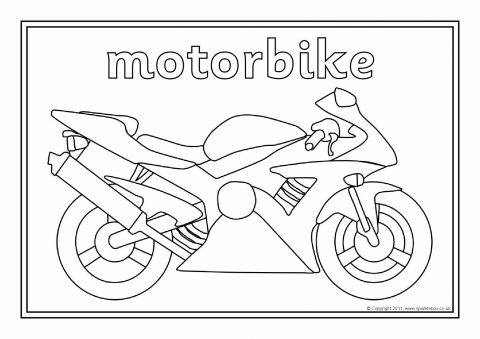 Transport Colouring Sheets Sb1973 Sparklebox
