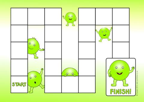 Editable Board Game Templates (SB10531) - SparkleBox