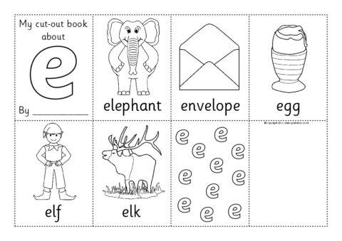 cut out mini alphabet booklets sb4783 sparklebox. Black Bedroom Furniture Sets. Home Design Ideas