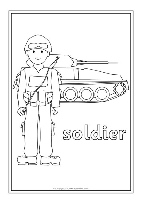 coloring pages occupations | Occupations Colouring Sheets (SB10547) - SparkleBox