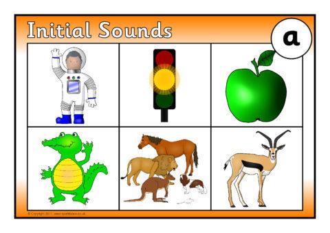 Initial Sounds Bingo: a (SB6675) - SparkleBox
