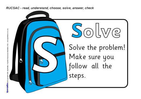rucsac problem solving acronym