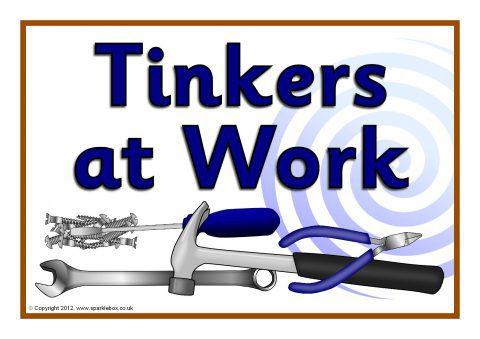 Tinkering Table Signs Sb7652 Sparklebox