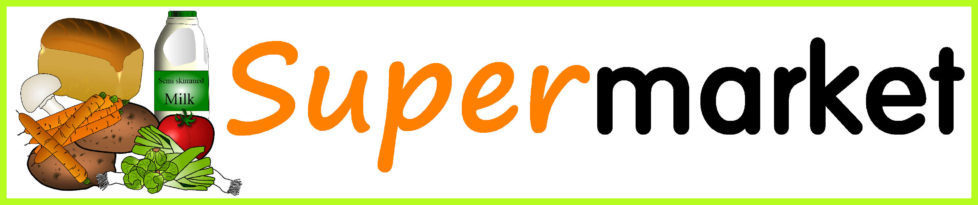 Image result for supermarket banner sparklebox