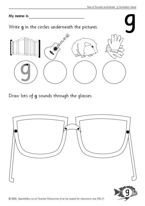 letter g worksheets sb44 sparklebox. Black Bedroom Furniture Sets. Home Design Ideas