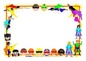 Superheroes Printables For Primary School Sparklebox