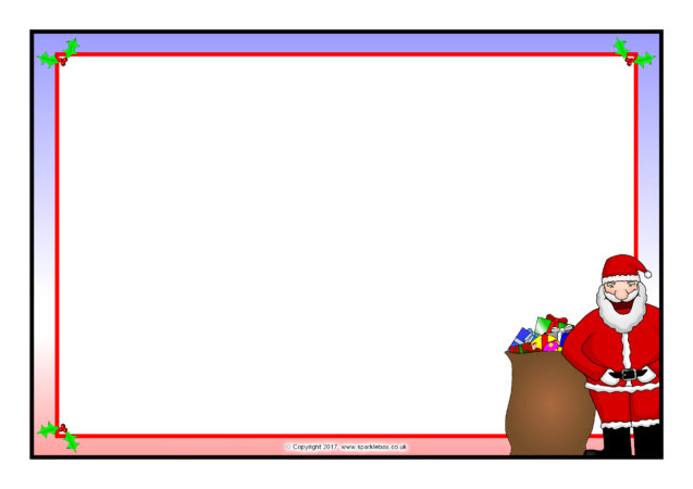 japan-themed a4 page borders  sb7038