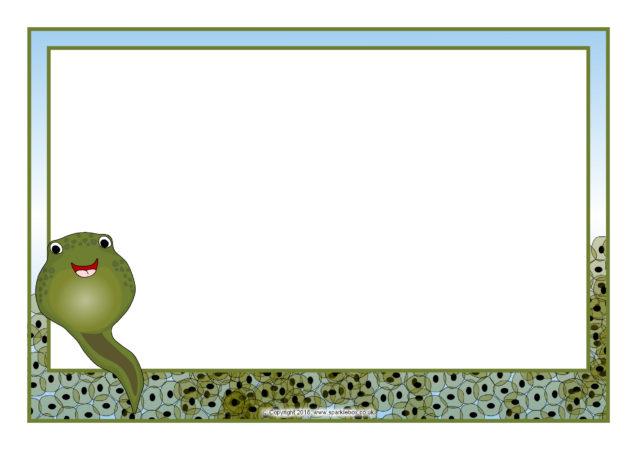 Australian Animals A4 Page Borders (SB4821)