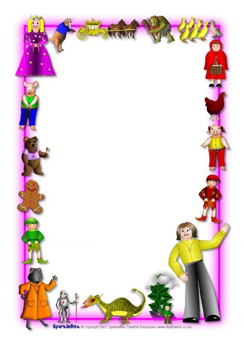 Fairytales-Themed A4 P...