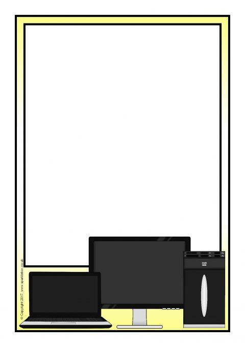 computer border designs