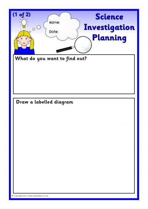 Free printable science Worksheets, word lists and activities ...