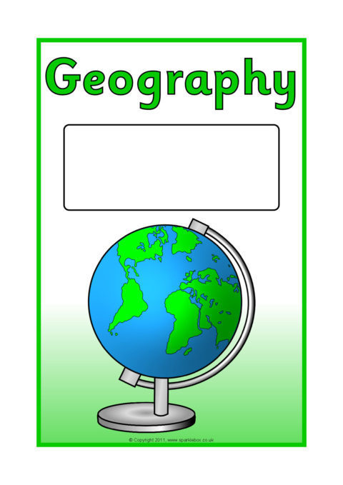 Geography School Book Cover Ideas : Editable subject book covers colour sb sparklebox