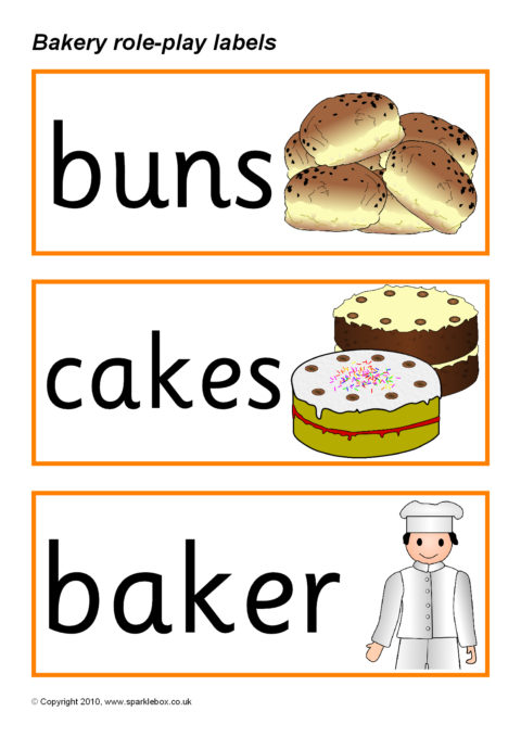 Bakery sparklebox