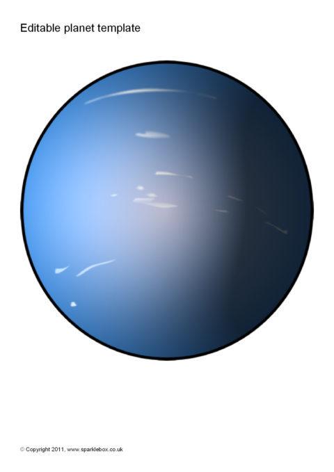 Editable Planet Templates Sb5439 Sparklebox