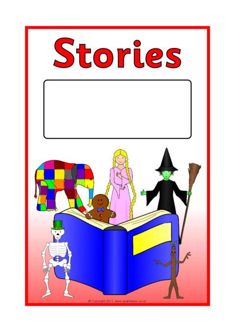 Book Cover Template Sparklebox ~ Editable literacy topic book covers sb sparklebox